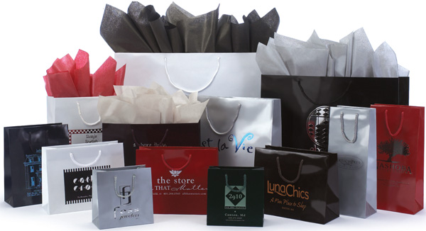 Gloss Laminated European Shopping Bags