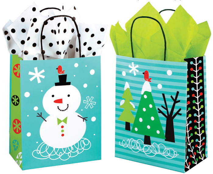 Chilly Chums Paper Shopping Bags
