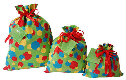 Everyday Dots - Fabric Drawstring Gift Bags