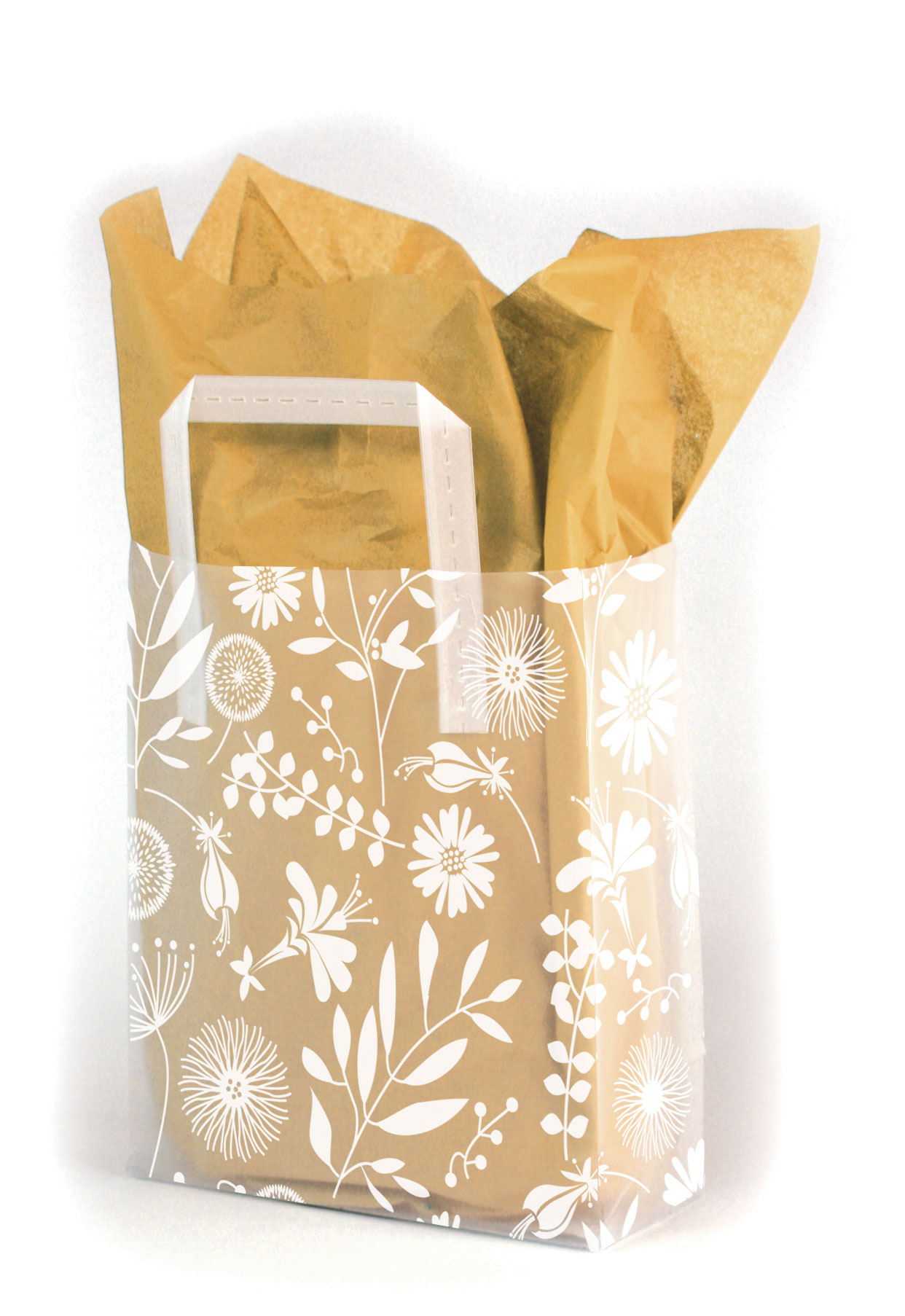 Field Mix Frosted Shopping Bags