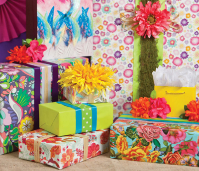 All Occasion/Everyday/Floral Gift Wrap Paper