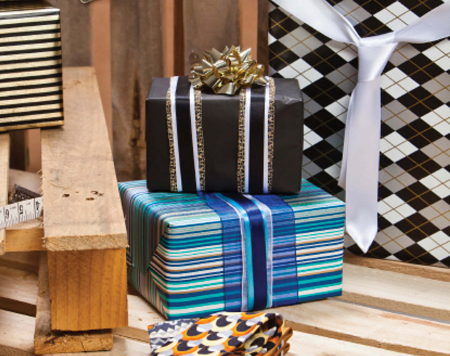 Masculine Gift Wrap Paper