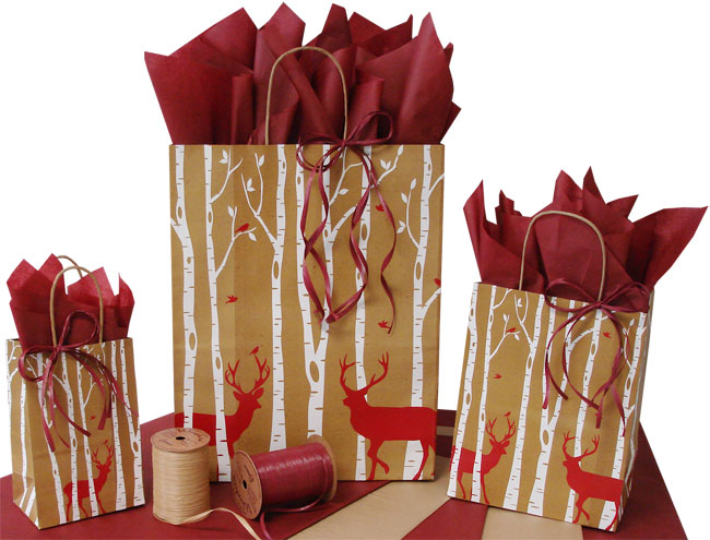 Reindeer Shopping Bags