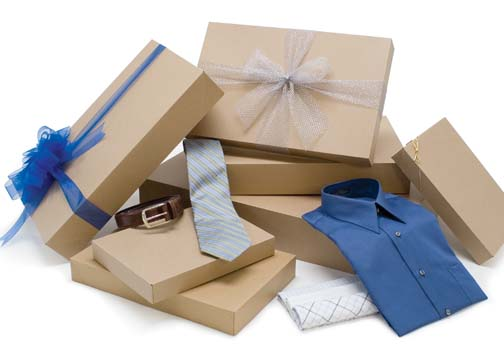 Apparel Boxes - Kraft