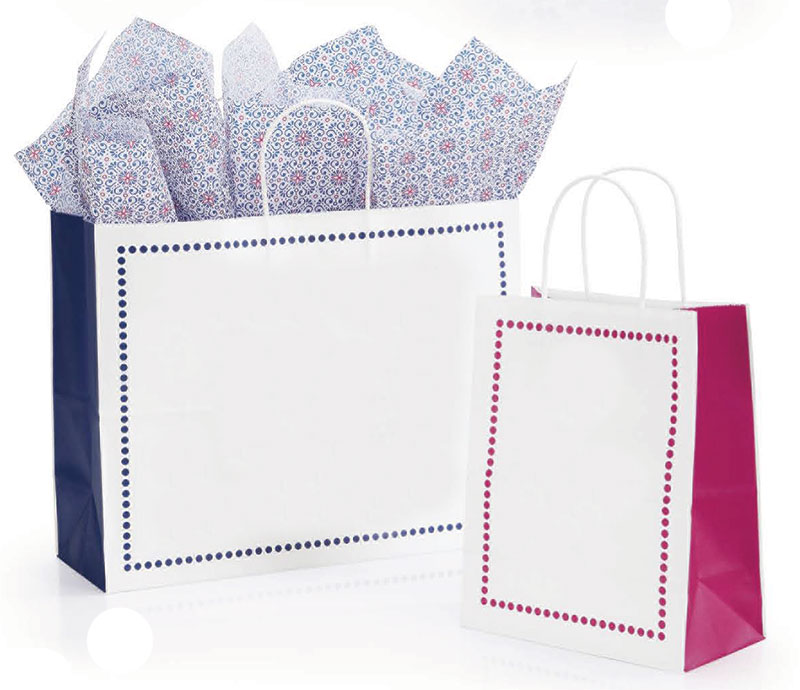 Madison Paper Shopping Bags