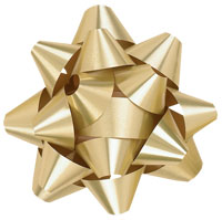 Metallic Tone Star Bows