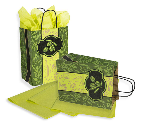 Olivia Paper Shopping Bags