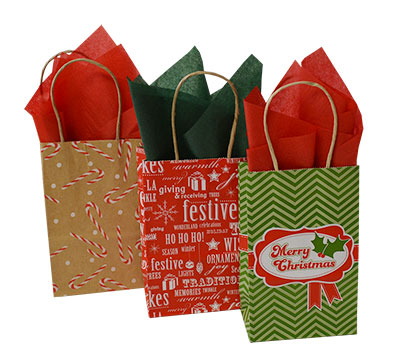 Christmas Bag Closeouts - Pup Sizes 1