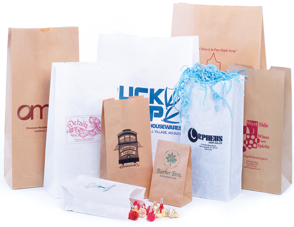 Natural Kraft / White Kraft SOS Bags
