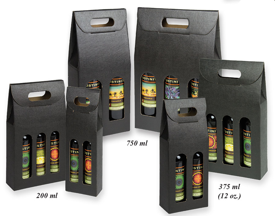 Seta Nero Bottle Carriers