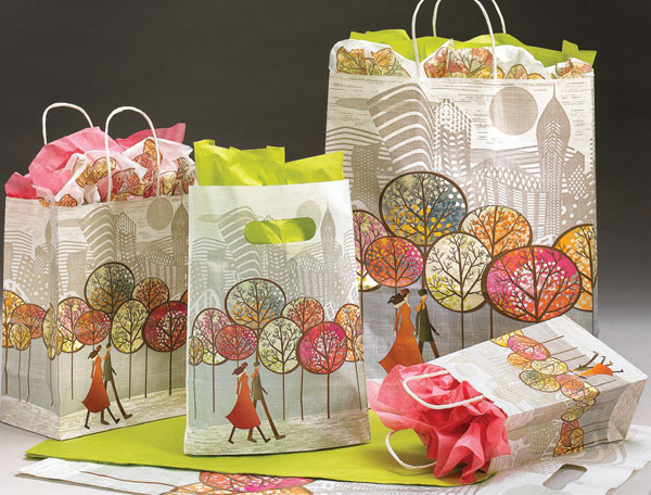 Central Park Paper Shopping Bags