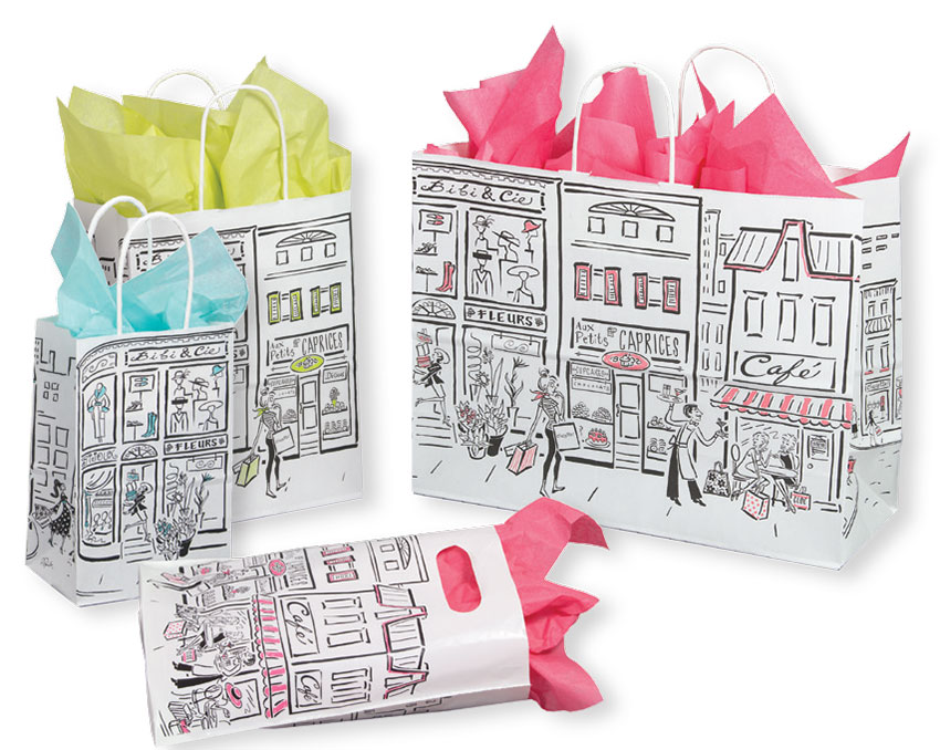 City Paper Shopping Bags