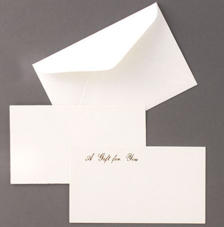 Enclosure Cards and Envelopes