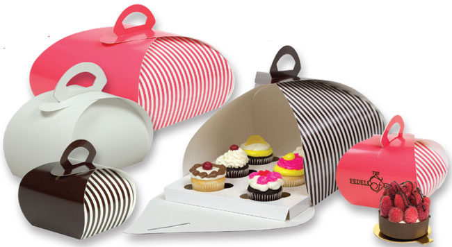 Pastry Carriers & Cupcake Inserts