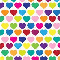 All Hearts Tissue Paper