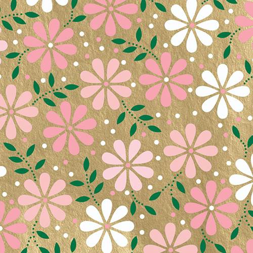 Baby Daisy Gold Tissue Paper