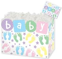 Baby Steps Gift Basket Boxes Gift Basket Boxes, Gift Basket Packaging