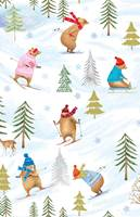 Bearly Winter Gift Wrap Paper