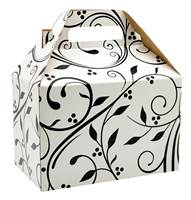 Berry Flourish Black Gable Box