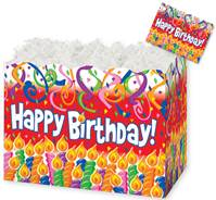 Birthday Candles Gift Basket Boxes Gift Basket Boxes, Gift Basket Packaging