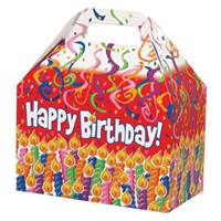 Birthday Candles Large Gable Box Gable Boxes