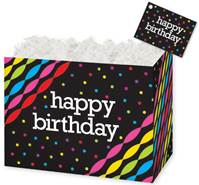 Birthday Streamers Gift Basket Boxes Gift Basket Boxes, Gift Basket Packaging