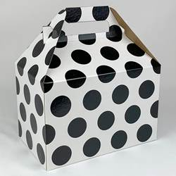 Black Dots Gable Box
