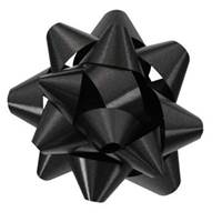 Black Splendorette Star Bows