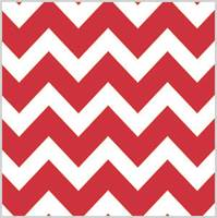 Bold Chevron Red Tissue Paper