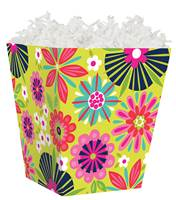 Bright Blooms Sweet Treat Box Sweet Treat Boxes, Gift Basket Packaging