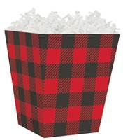 Buffalo Plaid Sweet Treat Box Sweet Treat Boxes, Gift Basket Packaging