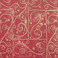 Burgundy Swirls Tissue