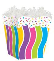 Candy Sprinkles Sweet Treat Box Sweet Treat Boxes, Gift Basket Packaging
