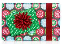 Chalk Circles Gift Wrap Paper (Reversible)