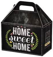 Chalkboard Home Sweet Home Large Gable Box Gable Boxes