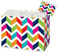 Chevron Chic Gift Basket Boxes Gift Basket Boxes, Gift Basket Packaging