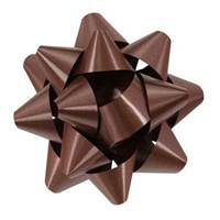 Chocolate Splendorette Star Bows