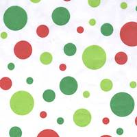 Christmas Dots Tissue Paper