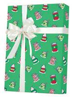 Christmas Drinks Gift Wrap Wholesale Gift Wrap Paper, Christmas Gift Wrap Paper