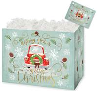Christmas Wishes Gift Basket Boxes Gift Basket Boxes, Gift Basket Packaging