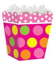 Citrus Dots Sweet Treat Box Sweet Treat Boxes, Gift Basket Packaging