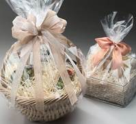 Clear basket bags