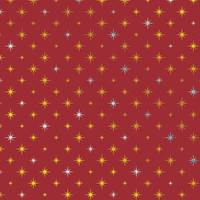 Corona Red Gift Wrap Paper
