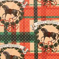 Happy Holidays Gift Wrap Paper