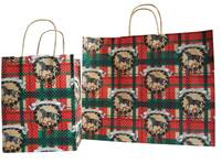 Happy Holidays Paper Shopping Bags (Cub)