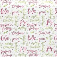Holiday Greeting Tissue Paper