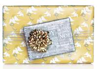 Inspirational Doves Gift Wrap Paper (Reversible)