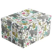 Jungle Safari Gift Wrap Paper Wholesale gift wrap paper, Jillson & Roberts gift wrap, All occasion gift wrap, Everyday gift wrap, Floral gift wrap