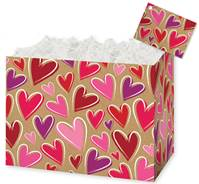 Krafted Hearts Gift Basket Boxes Gift Basket Boxes, Gift Basket Packaging