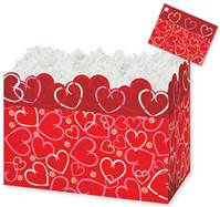 Layered Hearts Gift Basket Boxes Gift Basket Boxes, Gift Basket Packaging